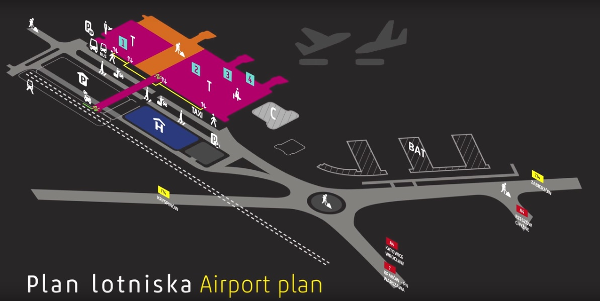 Filmy instruktażowe dla Kraków Airport 21