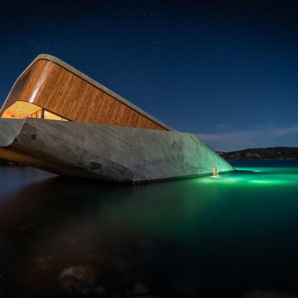 Under - pierwsza podwodna restauracja w Europie 1