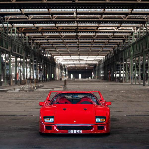 Italian Dream - historia pewnego Ferrari F40 6