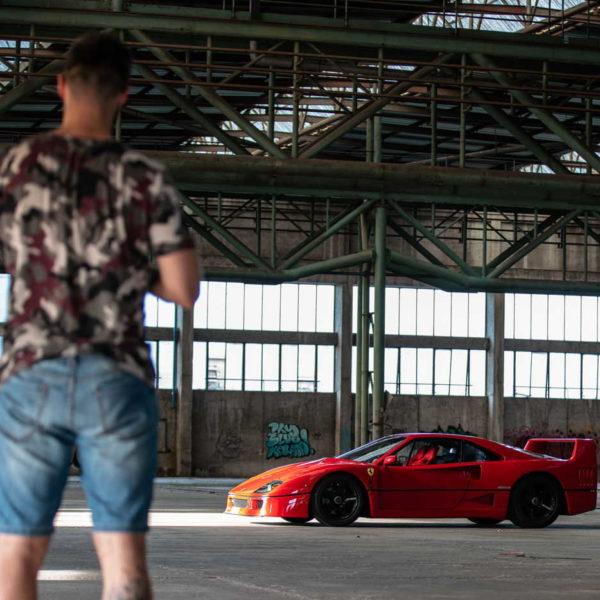 Italian Dream - historia pewnego Ferrari F40 5